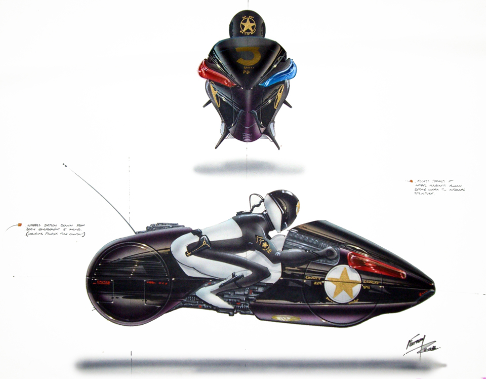 Future Motorcycle Concept Art